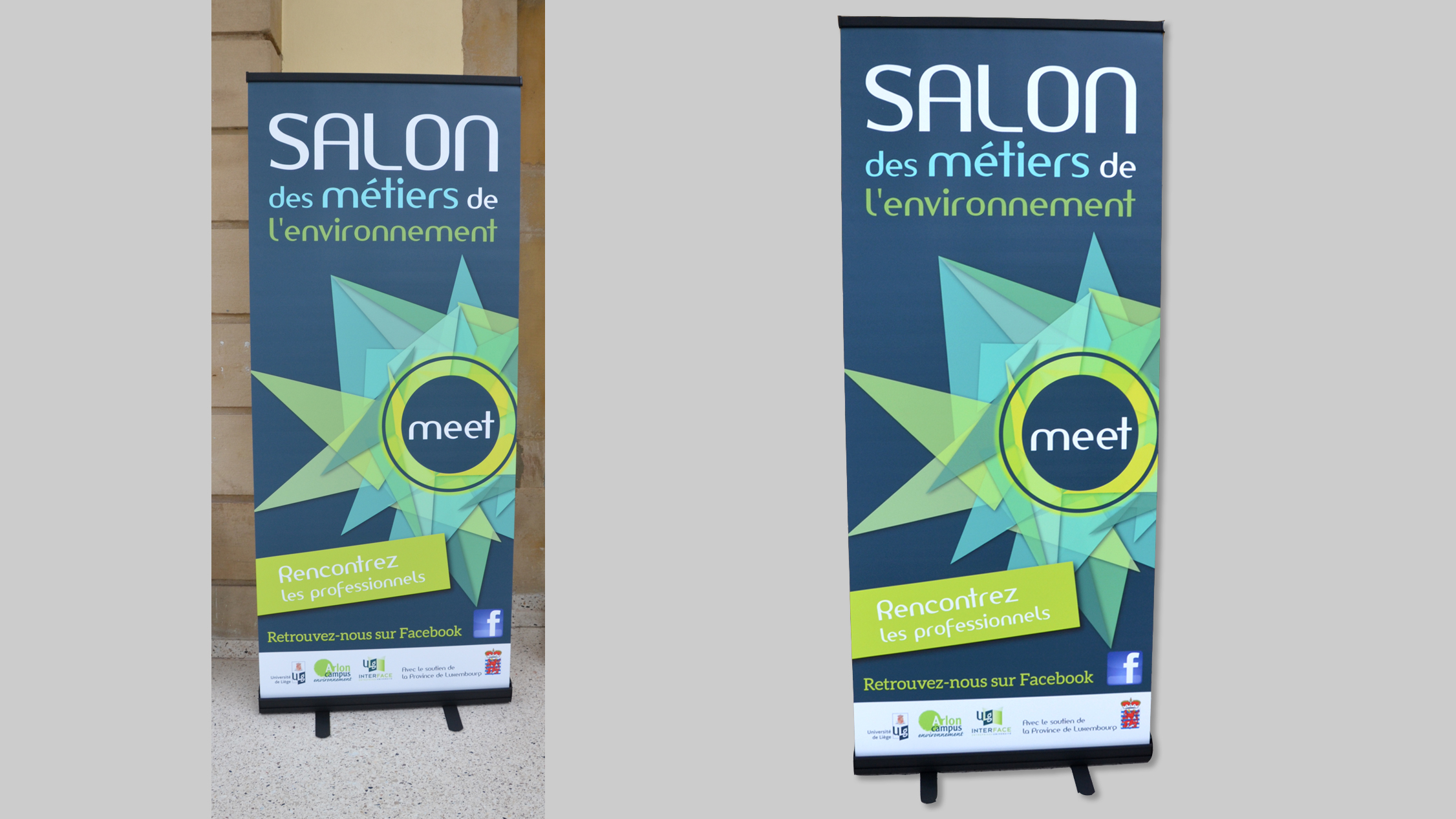 PRINT et EDITION : Roll up pour le salon MEET
